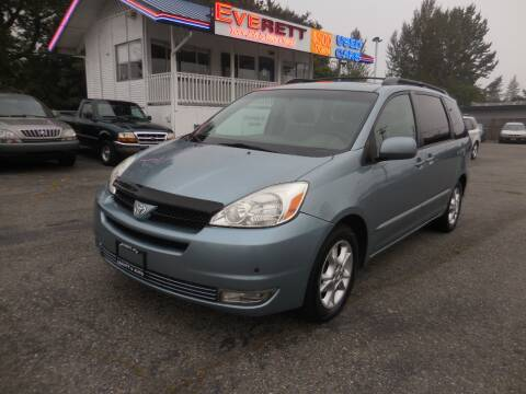 2004 Toyota Sienna for sale at Leavitt Auto Sales and Used Car City in Everett WA