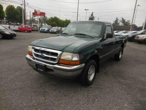 1998 Ford Ranger for sale at Leavitt Auto Sales and Used Car City in Everett WA