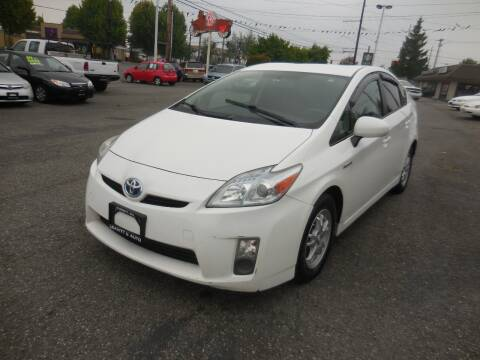2010 Toyota Prius for sale at Leavitt Auto Sales and Used Car City in Everett WA