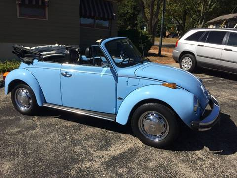 1979 Volkswagen Beetle Convertible for sale in Rockford, IL