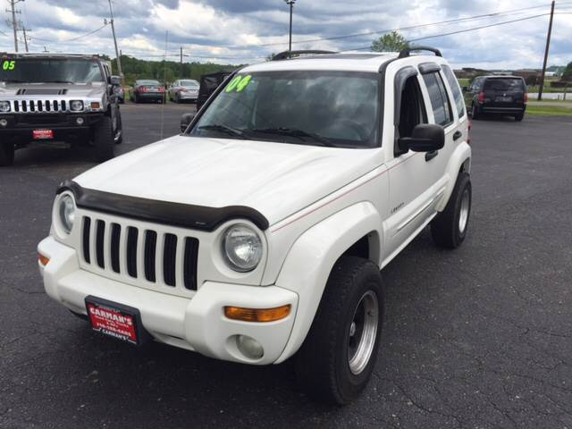 2004 Jeep Liberty Limited 4WD 4dr SUV - Jackson OH