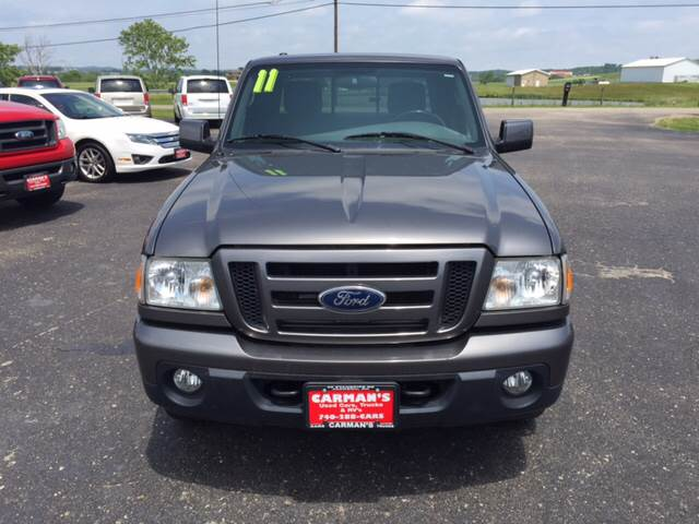 2011 Ford Ranger 4x4 Sport 4dr SuperCab - Jackson OH