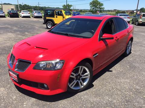 2008 Pontiac G8 for sale in Jackson, OH