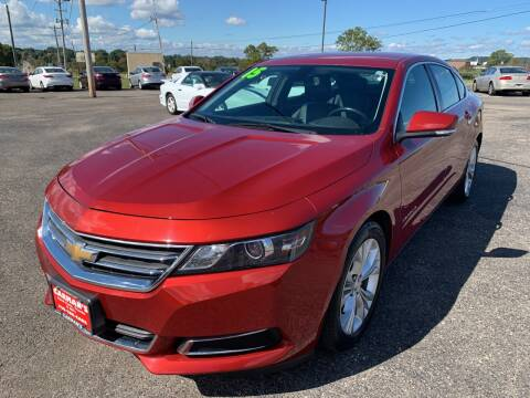2015 Chevrolet Impala for sale at Carmans Used Cars & Trucks in Jackson OH