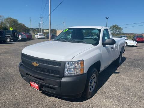 2013 Chevrolet Silverado 1500 for sale at Carmans Used Cars & Trucks in Jackson OH
