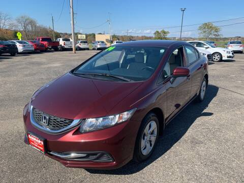 2014 Honda Civic for sale at Carmans Used Cars & Trucks in Jackson OH