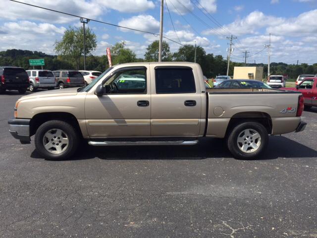2005 Chevrolet Silverado 1500 4dr Crew Cab LT 4WD SB - Jackson OH