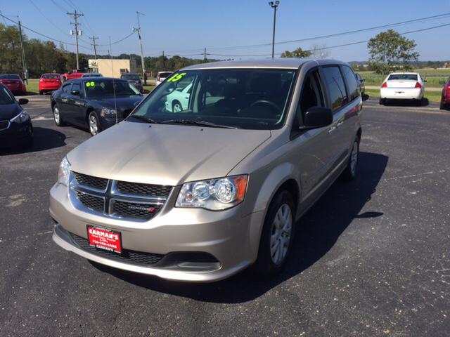 2015 Dodge Grand Caravan for sale at Carmans Used Cars & Trucks in Jackson OH