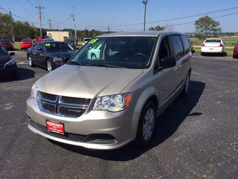 2015 Dodge Grand Caravan for sale at Carmans Used Cars & Trucks in Jackson OH