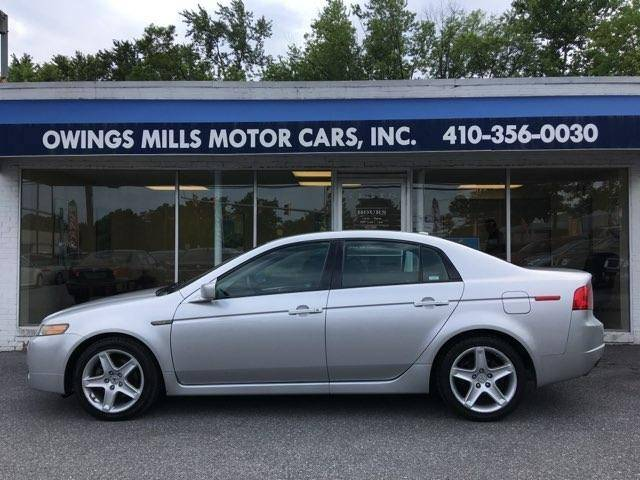 Acura TL In Owings Mills MD Owings Mills Motor Cars - Acura tl 2006 for sale