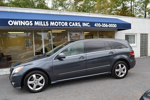 Mercedes Owings Mills >> Mercedes Benz R Class For Sale In Owings Mills Md Owings