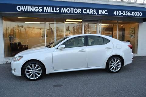 Lexus Of Owings Mills >> Lexus Is 250 For Sale In Owings Mills Md Owings Mills