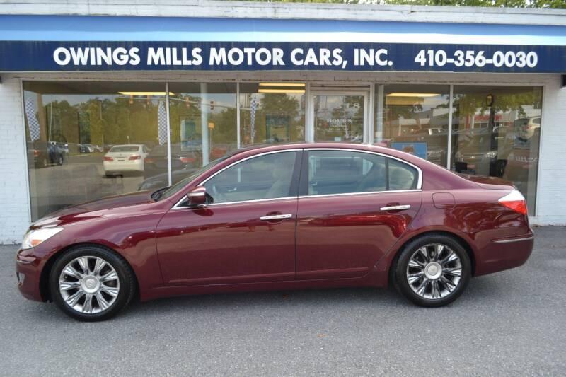 2009 Hyundai Genesis for sale at Owings Mills Motor Cars in Owings Mills MD