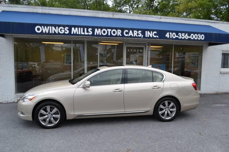 2011 Lexus GS 350 for sale at Owings Mills Motor Cars in Owings Mills MD