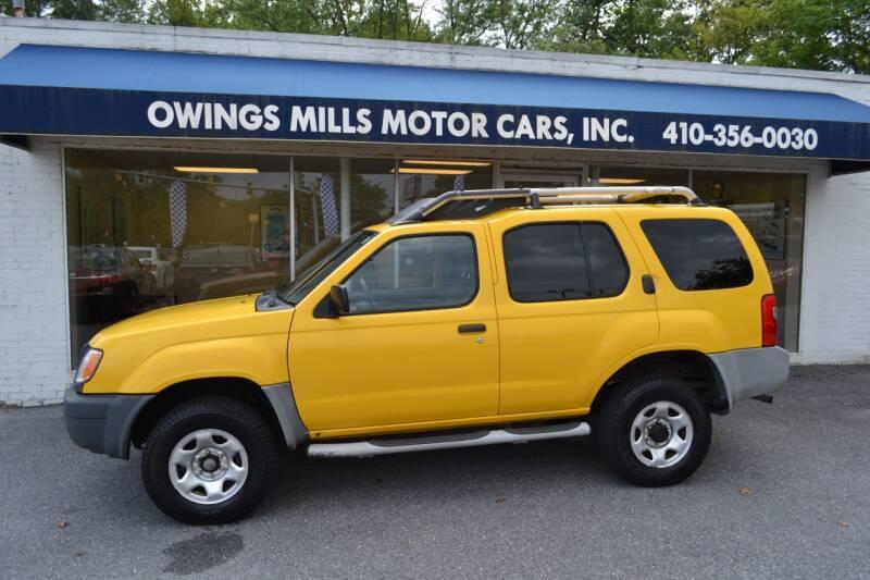 2001 Nissan Xterra for sale at Owings Mills Motor Cars in Owings Mills MD