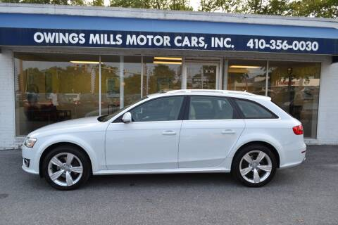2013 Audi Allroad for sale at Owings Mills Motor Cars in Owings Mills MD