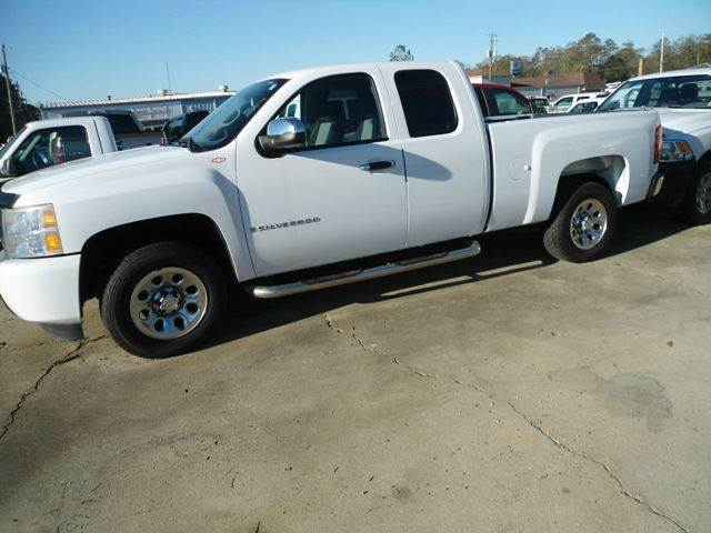 2009 chevrolet silverado 1500 4x2 work truck 4dr extended cab 6 5 ft sb in hattiesburg ms. Black Bedroom Furniture Sets. Home Design Ideas