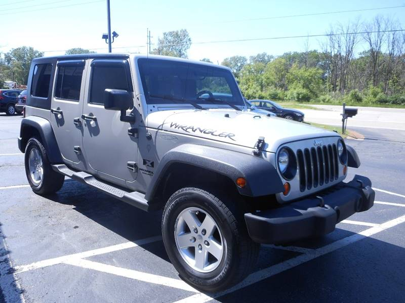 2007 Jeep Wrangler Unlimited For Sale At Lighthouse Auto Sales In Holland MI