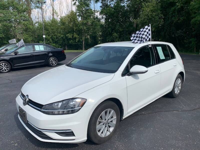 2019 Volkswagen Golf for sale at Lighthouse Auto Sales in Holland MI