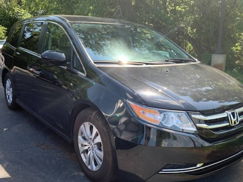 2017 Honda Odyssey for sale at Lighthouse Auto Sales in Holland MI