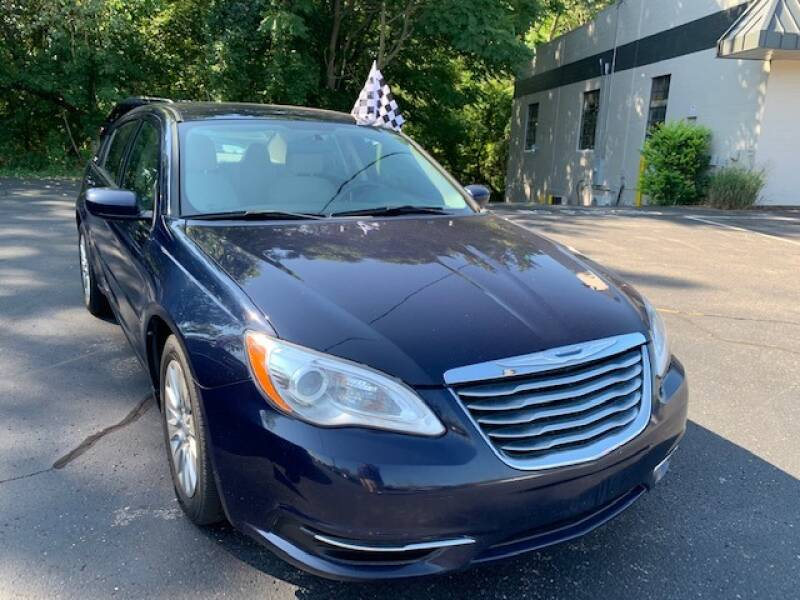 2013 Chrysler 200 for sale at Lighthouse Auto Sales in Holland MI