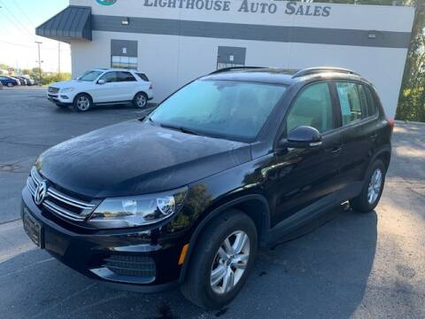 2016 Volkswagen Tiguan for sale at Lighthouse Auto Sales in Holland MI