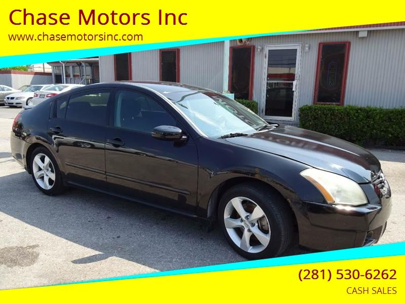 2008 Nissan Maxima For Sale At Chase Motors Inc In Stafford TX