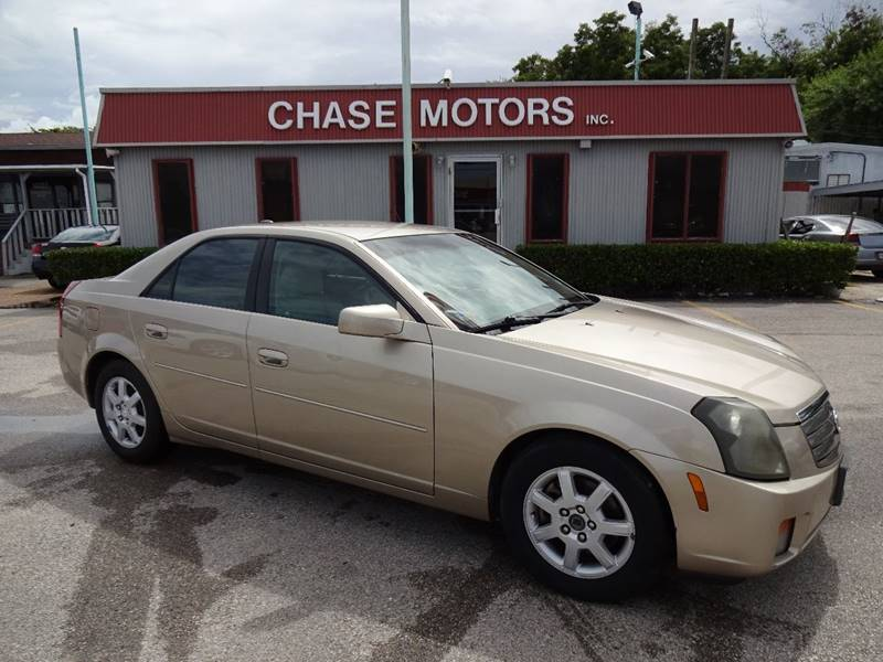 2005 cadillac cts in stafford tx chase motors inc. Black Bedroom Furniture Sets. Home Design Ideas
