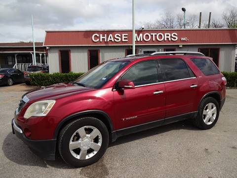 2007 GMC Acadia for sale in Stafford, TX