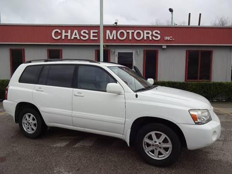 2005 Toyota Highlander for sale in Stafford, TX