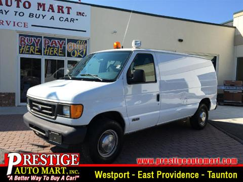 2004 Ford E-Series Cargo for sale in Westport, MA