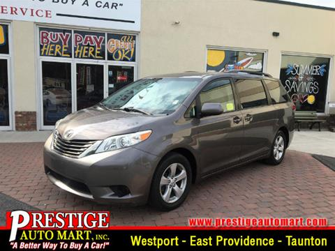 2011 Toyota Sienna for sale in Westport, MA