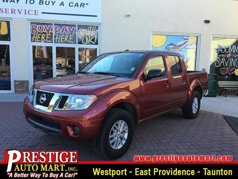 2015 Nissan Frontier for sale in Westport, MA