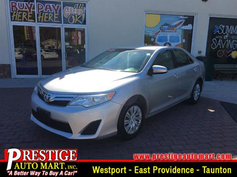 2012 Toyota Camry for sale in Westport, MA