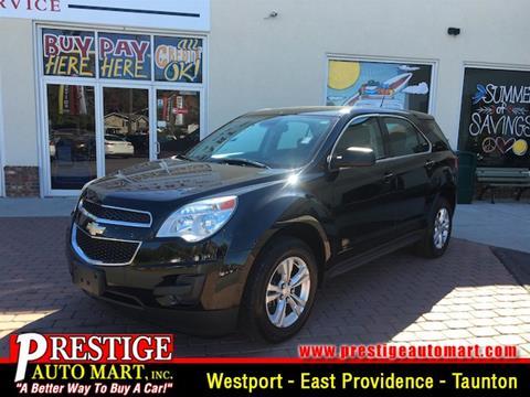 2013 Chevrolet Equinox for sale in Westport, MA