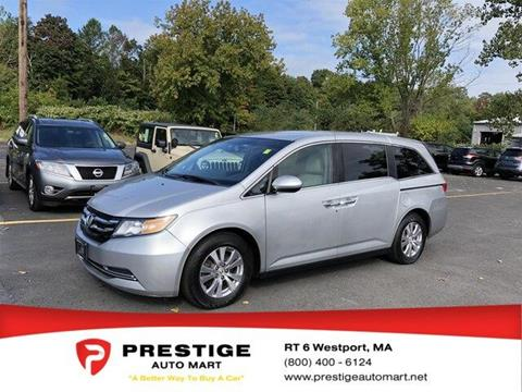 2015 Honda Odyssey for sale in Westport, MA