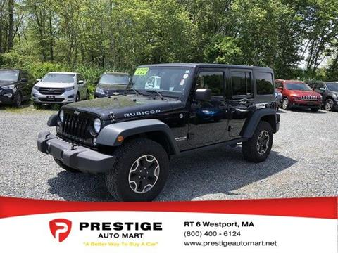2014 Jeep Wrangler Unlimited for sale in Westport, MA