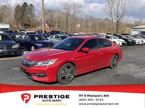 2016 Honda Accord for sale in Westport, MA