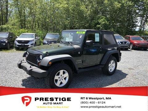 2010 Jeep Wrangler for sale in Westport, MA