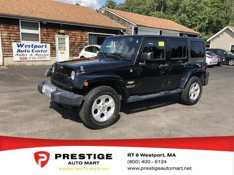2013 Jeep Wrangler Unlimited for sale in Westport, MA