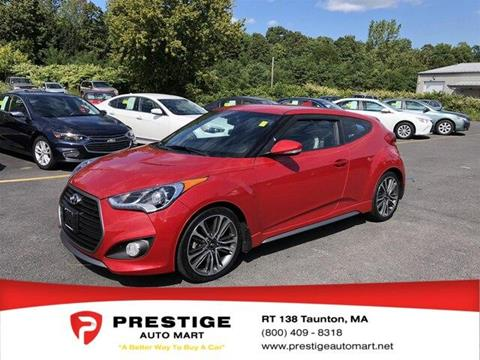 2016 Hyundai Veloster Turbo for sale in Westport, MA