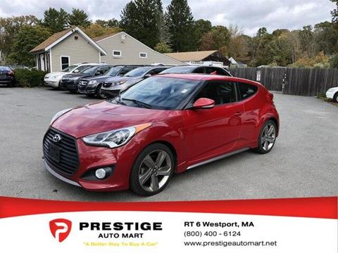 2013 Hyundai Veloster Turbo for sale in Westport, MA
