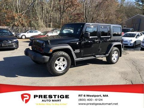 2012 Jeep Wrangler Unlimited for sale in Westport, MA