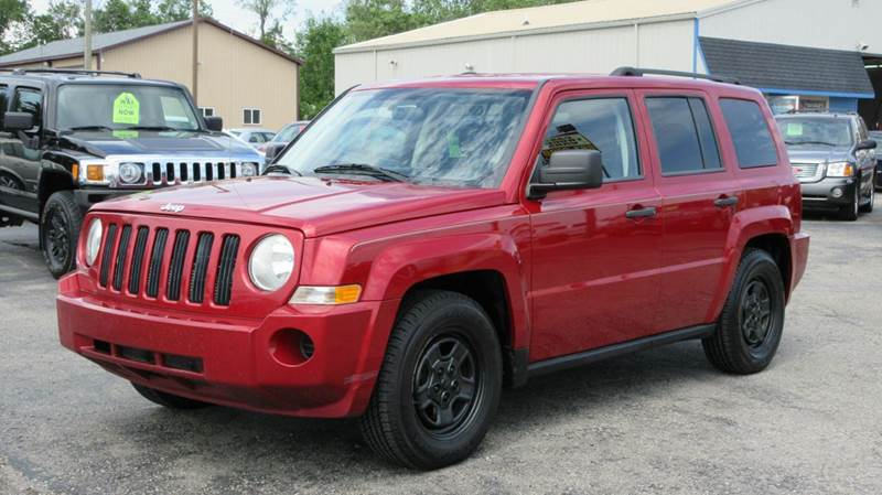 2008 Jeep Patriot 4x4 Sport 4dr SUV w/CJ1 Side Airbag Package - Lapeer MI