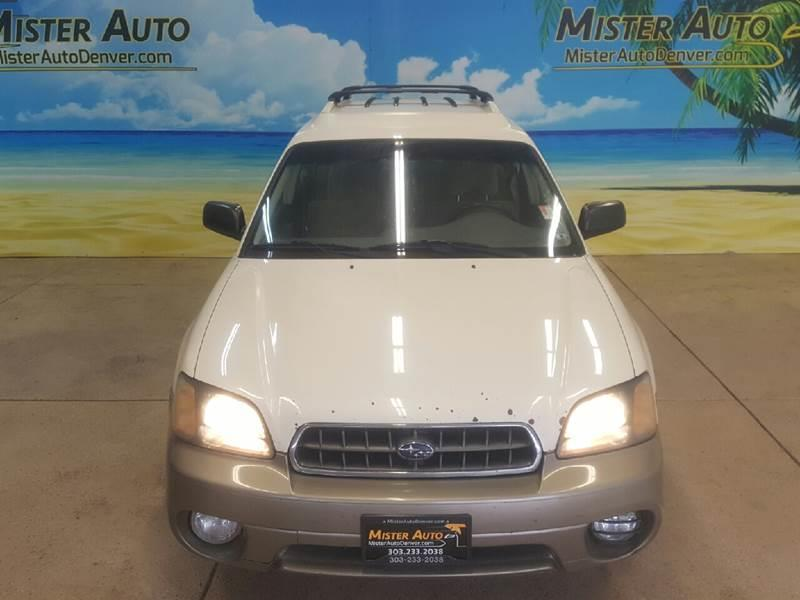 2004 Subaru Outback for sale at Mister Auto in Lakewood CO
