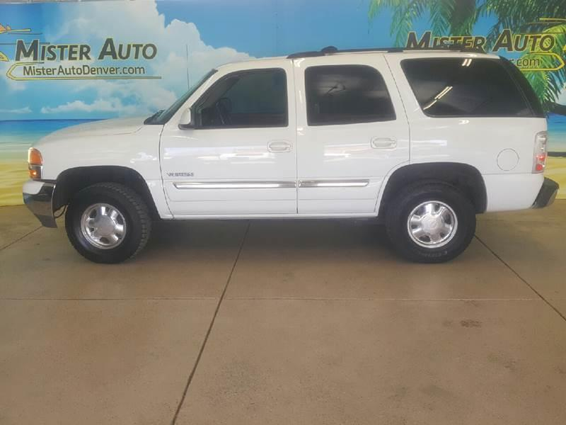 2004 GMC Yukon for sale at Mister Auto in Lakewood CO