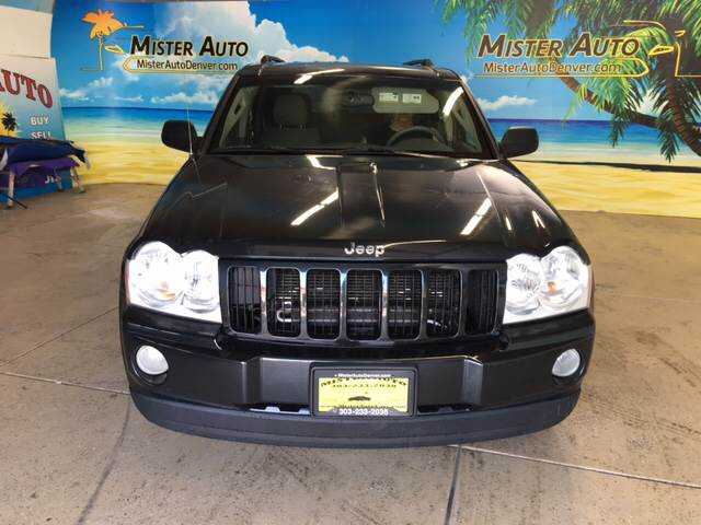 2005 Jeep Grand Cherokee for sale at Mister Auto in Lakewood CO