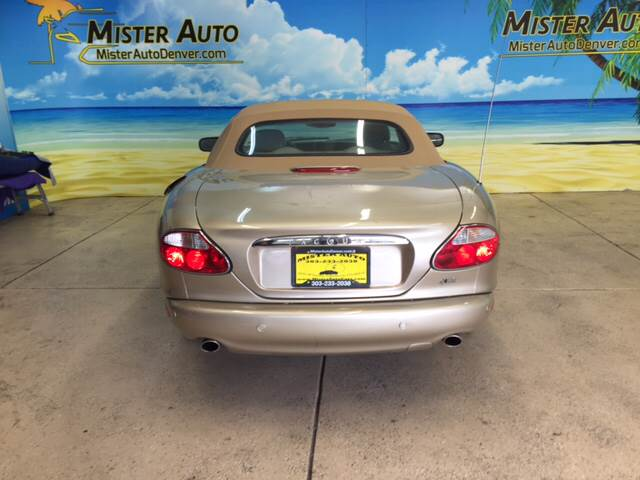 2001 Jaguar XK-Series for sale at Mister Auto in Lakewood CO