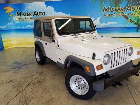 1997 Jeep Wrangler for sale at Mister Auto in Lakewood CO