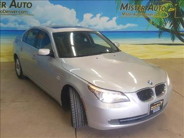 2009 BMW 5 Series for sale at Mister Auto in Lakewood CO